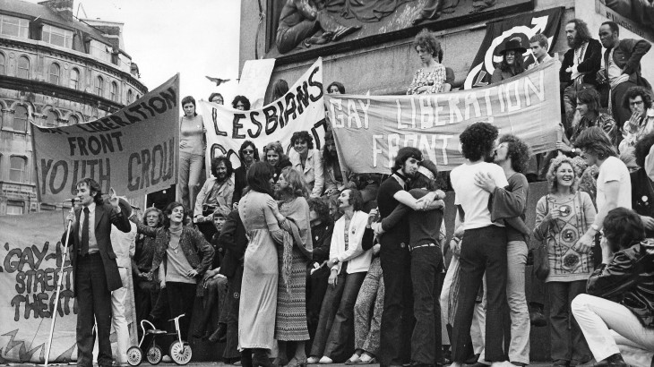 GLF-demo-August-1971-First-major-gay-demo-in-UK